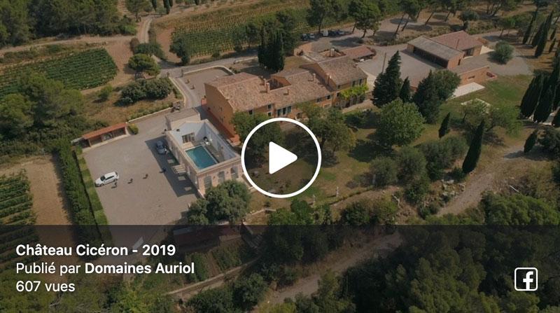 Tous les charmes du Château Cicéron en vidéo